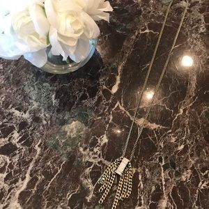 Banana Republic long chain pendant necklace